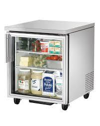 Glass Refrigerator True Tuc 27g 27in Undercounter Refrigerator 65 Cuft W Glass Door