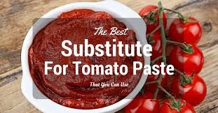 the best subsute for tomato paste