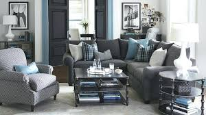 blue living room ideas living room gray and blue real living room idea with pattern pillows blue living room