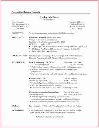 Senior Accountant Resume Sample Senior Accountant Resume Sample Elegant Chief Accountant Resume 32
