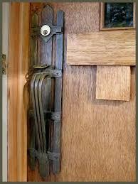 antique door hardware lock repair