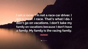 tony stewart e i am a racer i m not a race