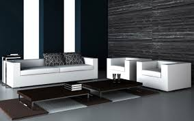 Modern Furniture Living Room Fab Black Vinyl Modern Sofas With Chaise Lounge Sleeper As Well As