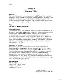 macbeth themes essay poetry essay examples resume thesis poetic  poetry essay examples resume thesis poetic vesochieuxo analytical essay example paper 130982 poetry examples resume help