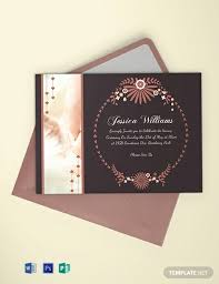 18 Free Invitation Card Templates Word Psd Indesign