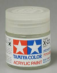 tamiya 81022 x 22 gloss clear acrylic