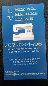 Sewing Machine Repair Las Vegas
