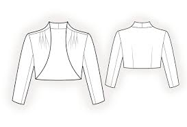 Bolero Jacket Pattern Unique Bolero Sewing Pattern 48 Madetomeasure Sewing Pattern From