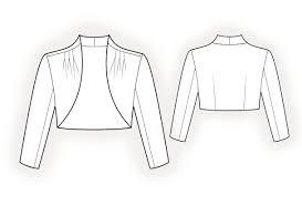 Bolero Jacket Pattern Unique Bolero Sewing Pattern 48 Madetomeasure Sewing Pattern From