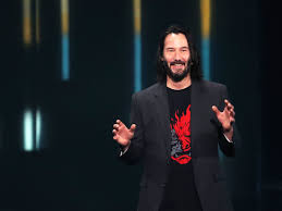 Keanu Reeves Showed Up At E3 To Say Hes In Cyberpunk 2077