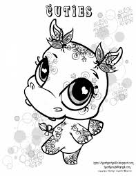 Small Picture Coloring Pages Lps Christmas Coloring Pages Littlest Pet Shop