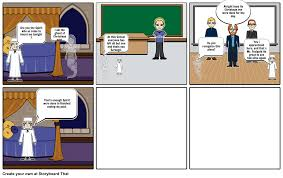 a christmas carol stave storyboard by