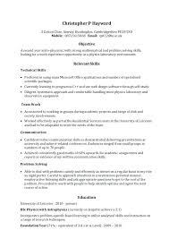 It Skills Resume Resume Samples Skills 4 Skills Style Resume Format
