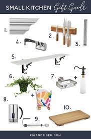 Great Kitchen Gift 10 Gift Ideas For The Small Kitchen Pig Tiger Renovation