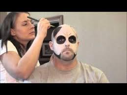 mens sugar skull makeup