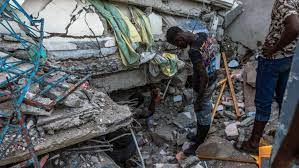Strong Earthquake Rocks Haiti, Killing ...