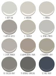cool gray paint colorsBest 25 Taupe gray paint ideas on Pinterest  Gray brown paint