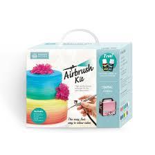 Cake Decorating Airbrush Kit Squires Kitchen Airbrush Kit Silver Squires Kitchen Shop