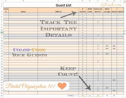 Excel Guest List Wedding Guest List Template Excel Inspirational Excel Template For