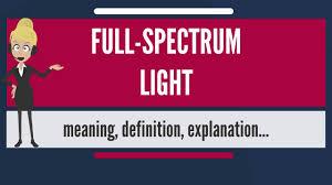 Daylight Spectrum Light What Is Full Spectrum Light What Does Full Spectrum Light Mean Full Spectrum Light Meaning