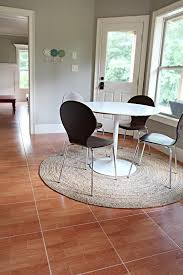 pottery barn round rug