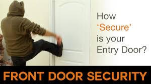 front door securityFront Door Security  How secure is your door  YouTube