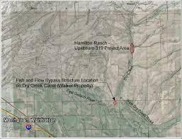 Dry Creek% % Area Map