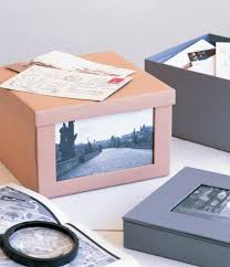 Decorative Shoe Box Use old shoe boxes for pictures Cover in browncolored paper and 40