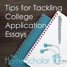 Tips For College Essays Tips For Tackling College Application Essays Newsletter