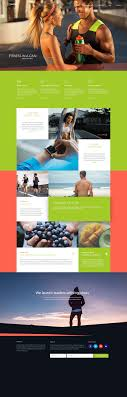 gym website design fitness free photoshop psd template blazrobar com
