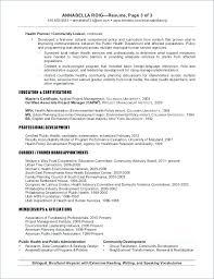 Environmental Resume Template Awesome Environmental Planner Resume