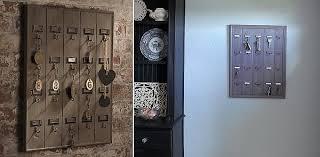 Hotel inspired key holder.