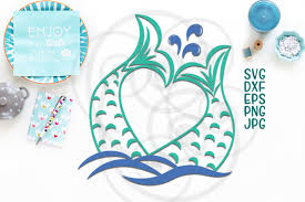 The free cut files include one (1).zip file with: Mermaid Tail Graphic By Cornelia Creative Fabrica