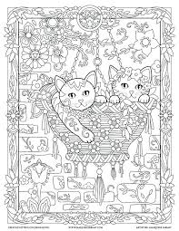 creative haven coloring books amazon pages disney easy kittens