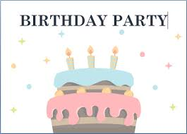 Birthday Cards Templates Word Birthday Invitation Templete Party Maker Free Online Cards Templates