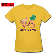 Pizza Shirt Designs Us 5 4 46 Off Love Is Love Pizza And Pineapple Slut Funny White T Shirt Womens New Designs Summer Style Cotton T Shirt Top Tees In T Shirts From