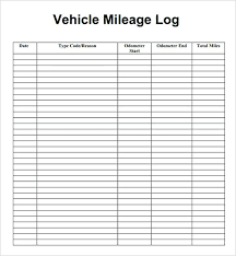 travel log templates free travel log template trip mileage book for tax purposes