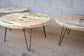 coffee table hairpin legs cable reel coffee table with hairpin legs coffee table hairpin legs