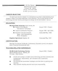 Resume Career Objective Statement Magnificent Great Objective Statement For Resume Good Statements Accounting