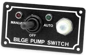 redl sports bilge pump switch 3 way panel marine shoreline the shoreline bilge pump float switch is an automatic lever type switch no mercury tinned marine grade wire for use most 12 volt bilge pumps