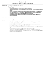 Stagehand Resume Samples Stagehand Resume Samples Velvet Jobs 1