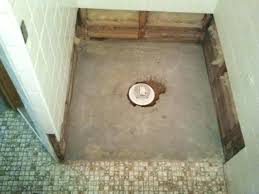 shower grout repair. Shower Floor Repair Demo And Pan Tile Contractor With Kit Base Grout