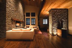 in floor lighting. View In Gallery Beautiful In-floor And Recessed Lighting Used To Create A Cozy Ambiance The Living Floor