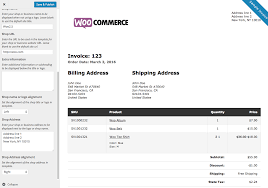 Woocommerce Print Invoices & Packing Lists - Woocommerce Docs