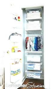 elfa closet design closet design closets closet design oh baby a spare room is transformed for elfa closet