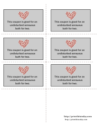 printable love coupons love coupons 20