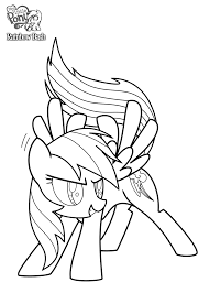 Small Picture Rainbow dash coloring pages printable for kids ColoringStar