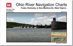 Ohio River Navigation Charts Foster Kentucky To New