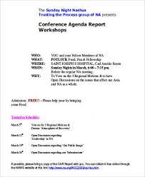 32+ Agenda Samples In Pdf | Sample Templates