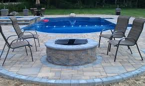 brick fire pit kit fire tables fire pits outdoor living solutions with round paver fire pit
